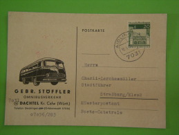 GEBRUDER STOFFLER OMNIBUSVERKEHR DACHTEL KR CALW AIDLIMGEN 1969 - Unclassified