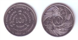 Burundi 10 Francs 2011 - Burundi