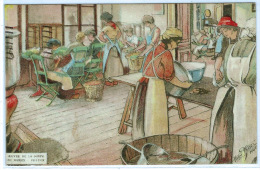 """NAMUR (Belgique) Plan TOP """"Oeuvre De La Soupe"""" Illustrateur Victor Thisez. Carte Obl. En1923 Timbre Accordéon RARE - Varietà E Curiosità"""