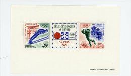 Gabon, Jeux Olympique De Saporo-1972 YT B19***MNH-Valeur 5 Euro - Winter 1972: Sapporo