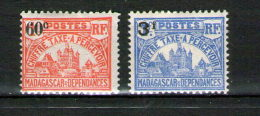 MADAGASCAR  - TAXE N° 17 à 19 * - Madagascar (1889-1960)
