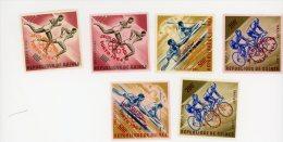 Guinée,Cyclisme, Aviron,JO Tokyo-Série Surchargée-YT A42/7***MNH-Valeur 30 Euro - Sommer 1964: Tokio