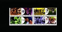 NEW ZEALAND - 2007  CENTENARIES  BLOCK OF 8  MINT NH - Blocchi & Foglietti