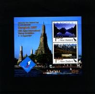 NEW ZEALAND - 2007  BANGKOK  EXIBITION  MS  MINT NH - Blocchi & Foglietti