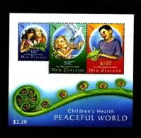 NEW ZEALAND - 2007  PEACEFUL  WORLD   MS  MINT NH - Blocchi & Foglietti