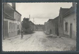- CPSM 80 - Thezy-Glimont, Rue Cadet - France