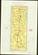 CZECH AIRLINE ROUTE PRAG PRAHA - BEOGRAD - SOFIA AIRPLANE POSTCARD - 1919-1938: Interbellum