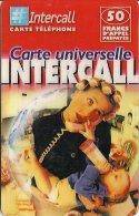 CARTE-PREPAYEE-INTERCALL- 50F-MAMAN BEBE-31/12/2002-TBE - France