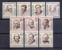 Germany  - Berlin 1957/59 Famous Men Of Berlin - [5] Berlin