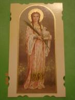NB Eucaristica 002 - S.AGNESE Vergine Martire - Santino Recente - Images Religieuses
