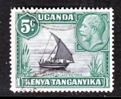 Kenya And Uganda & Tanganyika  47  Type  II   (o) - Kenya, Uganda & Tanganyika