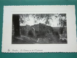Le Château Vu De L'Esplanade Anno 19?? ( Zie Foto Details ) !! - Bouillon