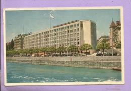 SUISSE  - HOTEL du RHONE - Gen�ve - oblit�r�e en 1952