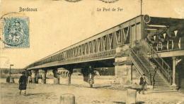 BORDEAUX - GIRONDE -  (33) - PEU COURANTE CPA PRECURSEUR ANIMEE. - Bordeaux