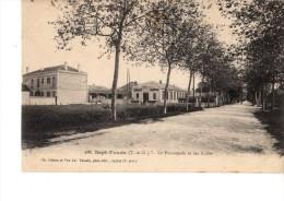 82----SEPTFONDS----la Promenade Et Les Ecoles--voir 2 Scans - France