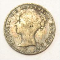 3 Pence 3 Penny 1861 Argent - 1816-1901 : Frappes XIX° S.