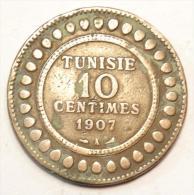 Tunisie 10 Centimes 1907 A - Túnez