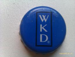 Chapa Kronkorken Cap Tappi Vodka WKD. Reino Unido. - Chapas Y Tapas