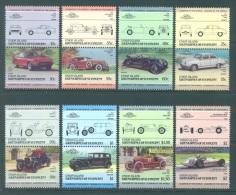 UNION ISLANDS  - 1985 - MNH/*** LUXE - AUTO (III) DATSUN DUESENBERG LAGONDA PANHARD DAIMLER - Mi 110-125 - Lot 8241 - St.Vincent & Grenadines