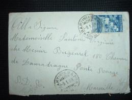 LETTRE POUR FRANCE TP BIMILIENARIO AUGUSTEO 1,25L OBL. 9.1.39  MARTINIANAPO - Marcophilia