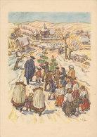 Bunte Bärenreiter Karte / Lichtergang In Siebenbürgen (D-A04) - Peintures & Tableaux