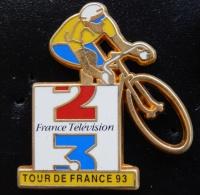Pin's Vélo Tour De France 1993 France Télévision - Cyclisme
