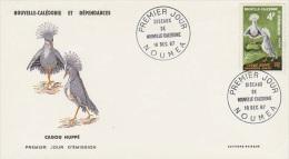 New Caledonia-1987 Cagoou 4f Bird FDC - FDC