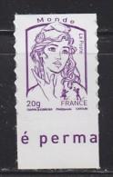 = Marianne Et La Jeunesse Autocollant X 1 Lettre Prioritaire Monde -20g, Avec Bord De Feuille Bas N°852 (4768) - Frankreich