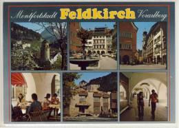 FELDKIRCH Montfortstadt  - Mehrbildkarte - Feldkirch