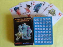. Jeu De 54 Cartes Monstrueux Collection Mickey. - Playing Cards (classic)