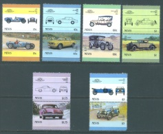 NEVIS - 1986 - MNH/** - AUTO (VI) RILEY  STUDEBAKER CUNNINGHAM   - Mi 398-409 Yv 407-418 - Lot 8259 3$ UNE DENT MANQUE !