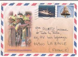 Lettre Nouvelle Calédonie 1995 ( Station Météorologique De Ouanaham Ile Lifou ) - Lettres & Documents