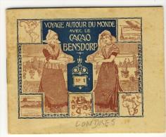 Voyage Autour Du Monde Avec Le Cacao Bensdorp. LONDRES. Petit Livret De 16 Photos Format 10.2x8.2 - Vieux Papiers