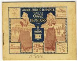 Voyage Autour Du Monde Avec Le Cacao Bensdorp. VIENNE. Petit Livret De 16 Photos Format 10.2x8.2 - Oude Documenten