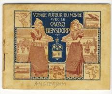 Voyage Autour Du Monde Avec Le Cacao Bensdorp. AMSTERDAM. Petit Livret De 16 Photos Format 10.2x8.2 - Old Paper