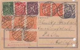 DR GS Zfr. Minr. 2x 163,183,187,5x 227,240 Flöha 23.4.23 - Allemagne