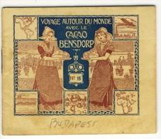 Voyage Autour Du Monde Avec Le Cacao Bensdorp . BUDAPEST  Et Prague  . Petit Livret De 16 Photos Format 10.2x8.2 - Oude Documenten