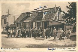 80  QUEND - PLAGE -    AU LAPIN  AGILE  ,  CHEZ   LEON  , En 1939 - Quend