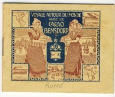 Voyage Autour Du Monde Avec Le Cacao Bensdorp . ROME   . Petit Livret De 16 Photos Format 10.2x8.2 - Oude Documenten