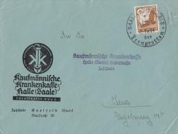 DR Brief EF Minr.533 Saalfeld 15.6.38 - Briefe U. Dokumente