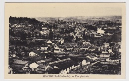 (RECTO / VERSO) MONTBELIARD - N° 6 - VUE GENERALE EN 1939 - Ed. ADAIN A BELFORT - Montbéliard