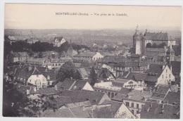(RECTO / VERSO) MONTBELIARD - N° 7 - VUE PRISE DE LA CITADELLE - Montbéliard