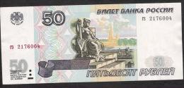 RUSSIA P274   50  RUBLES   1997   XF-AU   Original 1997 NO Microprinting ! ! - Russie