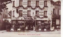 PACY SUR EURE  HOTEL SAINT LAZARE  C.P.A.. - Pacy-sur-Eure