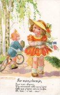 ILLUSTRATEUR MAUZAN  ENFANTS HISTOIRE D'AMOUR -  SUR MON CHEMIN   CYCLISTE - Mauzan, L.A.