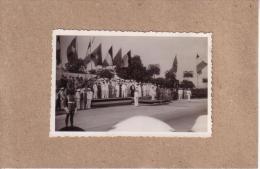 PHOTOS - CONGO BELGE - PHOTO - CEREMONIE OFFICIELLE - OFFICIERS COLONIAUX - Lieux