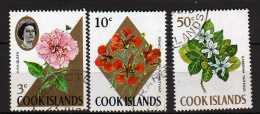 Iles Cook Scott N°203.210.215. Oblitérés   (153) - Cook