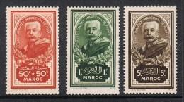 MAROC N°150 à 152 N* - Maroc (1891-1956)
