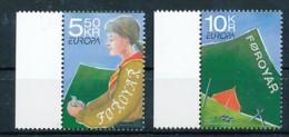 DÄNEMARK - FÄRÖER  Mi.Nr. 607-608  Pfadfinder - 2007- MNH - Europa-CEPT