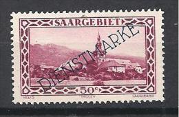 SARRE   SERVICE YVERT N� 22 / MAURY N� 18 TIRAGE DE 1927  NEUF* TTB